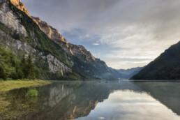 Alp, Berg, Berge, Bergmassiv, Gewitter, Glarus, Klöntalerseee, Schweiz, See, Sommer, Suisse, Switzerland, Thunderstorm, summer