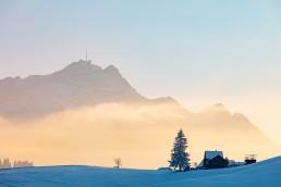 Appenzell, Appenzell Ausserrohden, Appenzellerland, Jahreszeiten, Landschaft und Natur, Natur, Orte, Ostschweiz, Schnee, Schweiz, Speicher, Suisse, Switzerland, Säntis, Wetter, Winter