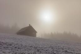 Alp, Appenzell, Appenzell Ausserrohden, Appenzellerland, Nebel, Schnee, Schweiz, Suisse, Switzerland, Urnaesch, Wetter, Winter