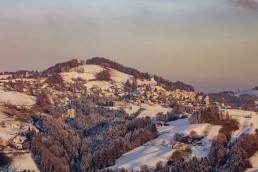 Appenzell, Appenzell Ausserrohden, Appenzeller Vorderland, Dorf, Ostschweiz, Rehetobel, Schweiz, Suisse, Switzerland, Winter