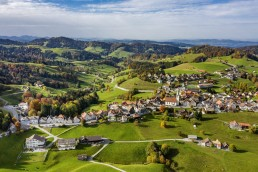 Appenzell Ausserrohden, Autumn, Dji Mavic pro 2, Dorf, Drohne, Fall, Flugaufnahme, Fotografie, Herbst, Ostschweiz, Photography, Schweiz, Schwellbrunn, Suisse, Switzerland