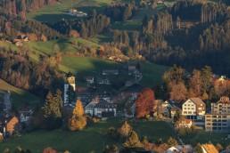 Appenzell, Appenzell Ausserrohden, Appenzellerland, Autumn, Dji Mavic pro 2, Dorf, Drohne, Fall, Flugaufnahme, Fotografie, Herbst, Ostschweiz, Photography, Schweiz, Suisse, Switzerland, Trogen