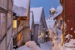 Appenzell, Appenzell Ausserrohden, Appenzellerland, Ostschweiz, Schnee, Schweiz, Suisse, Switzerland, Trogen, Wetter, Winter