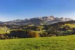 Alpstein, Appenzell, Appenzell Ausserrohden, Autumn, Berg, Fall, Herbst, Ostschweiz, Schweiz, Suisse, Switzerland, Säntis, Säntisbahn, Säntisbahn Säntis, Waldstatt