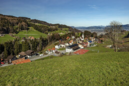 Appenzell, Appenzell Ausserrohden, Appenzeller Vorderland, Dorf, Frühling, Reute, Schweiz, Sonnenschein, Spring, Suisse, Switzerland