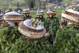 Appenzell Ausserrohden, Silvesterchlaus, Silvesterklausen, Suisse, Switzerland, Urnäsch, tradition