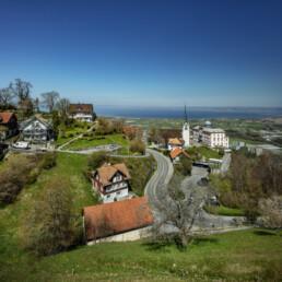 Appenzell, Appenzell Ausserrohden, Appenzeller Vorderland, Aussicht, Bodensee, Dorf, Frühling, Ostschweiz, Schweiz, See, Spring, Suisse, Switzerland, lake