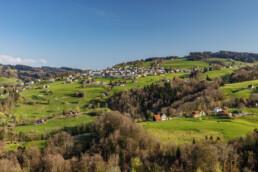 Appenzell, Appenzell Ausserrohden, Appenzeller Vorderland, Dorf, Frühling, Ostschweiz, Schweiz, Spring, Streusiedlung, Suisse, Switzerland, Wolfhalden