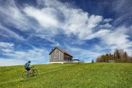 Appenzell, Appenzell Ausserrohden, Bike, Clouds, Freuerstelle, Frühling, Haus, Hütte, Ostschweiz, Rehetobel, Schweiz, Sonnenschein, Sport, Spring, Suisse, Switzerland, Verkehr, Wanderweg, Weg, Wolken