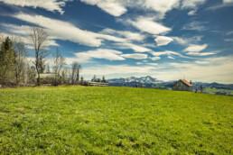 Appenzell, Appenzell Ausserrohden, Clouds, Freuerstelle, Frühling, Haus, Hütte, Ostschweiz, Rehetobel, Schweiz, Sonnenschein, Spring, Suisse, Switzerland, Verkehr, Wanderweg, Weg, Wolken