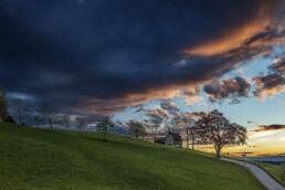 Abend, Appenzell, Appenzell Ausserrohden, Appenzellerhaus, Baum, Bäume, Clouds, Feuerhimmel, Frühling, Haus, Lichtsimmung, Ostschweiz, Schweiz, Speicher, Spring, Suisse, Switzerland, Tree, Trees, Wald, Wetter, Wolken, dramatische Licht