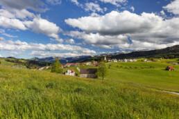 Abend, Appenzell, Appenzell Ausserrohden, Clouds, Dorf, Frühling, Ostschweiz, Schweiz, Spring, Stein, Suisse, Switzerland, Wolken