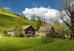 Appenzell Ausserrohden, Appenzellerhaus, Bauerhaus, Gais, Ostschweiz, Schweiz, Suisse, Switzerland