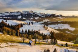 Appenzell, Hundwil, Schweiz, Suisse, Switzerland, Säntis, Winter