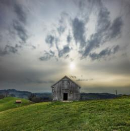 Appenzell, Appenzell Ausserrohden, Clouds, Frühling, Haus, Hundwil, Hütte, Schweiz, Spring, Suisse, Switzerland, Wolken