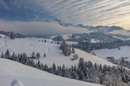 Appenzell, Appenzell Ausserrohden, Hundwil, Ostschweiz, Schnee, Schweiz, Suisse, Switzerland, Säntis, Wetter, Winter