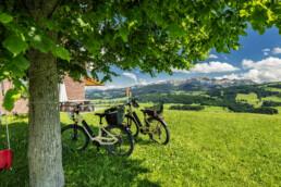Alpen, Alps, Appenzell, Appenzell Ausserrohden, Ostschweiz, Schweiz, Schwellbrunn, Sommer, Suisse, Switzerland, summer