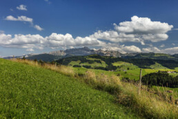Alpen, Alps, Alpstein, Appenzell, Appenzell Ausserrohden, Clouds, Ostschweiz, Schweiz, Schwellbrunn, Sommer, Suisse, Switzerland, Säntis, Wolken, summer