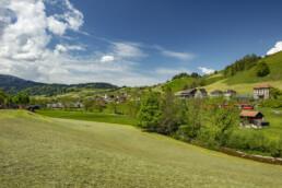 Appenzell, Appenzell Ausserrohden, Clouds, Dorf, Ostschweiz, Sommer, Streusiedlung, Suisse, Switzerland, Urnäsch, Wolken, summer
