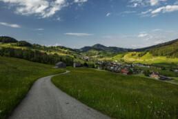 Appenzell, Appenzell Ausserrohden, Dorf, Ostschweiz, Sommer, Streusiedlung, Suisse, Switzerland, Urnäsch, summer