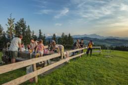Appenzell, Appenzell Ausserrohden, Aussicht, Aussichtsbank, Bank, Freuerstelle, Ostschweiz, Rehetobel, Schweiz, Suisse, Switzerland, Tourismus